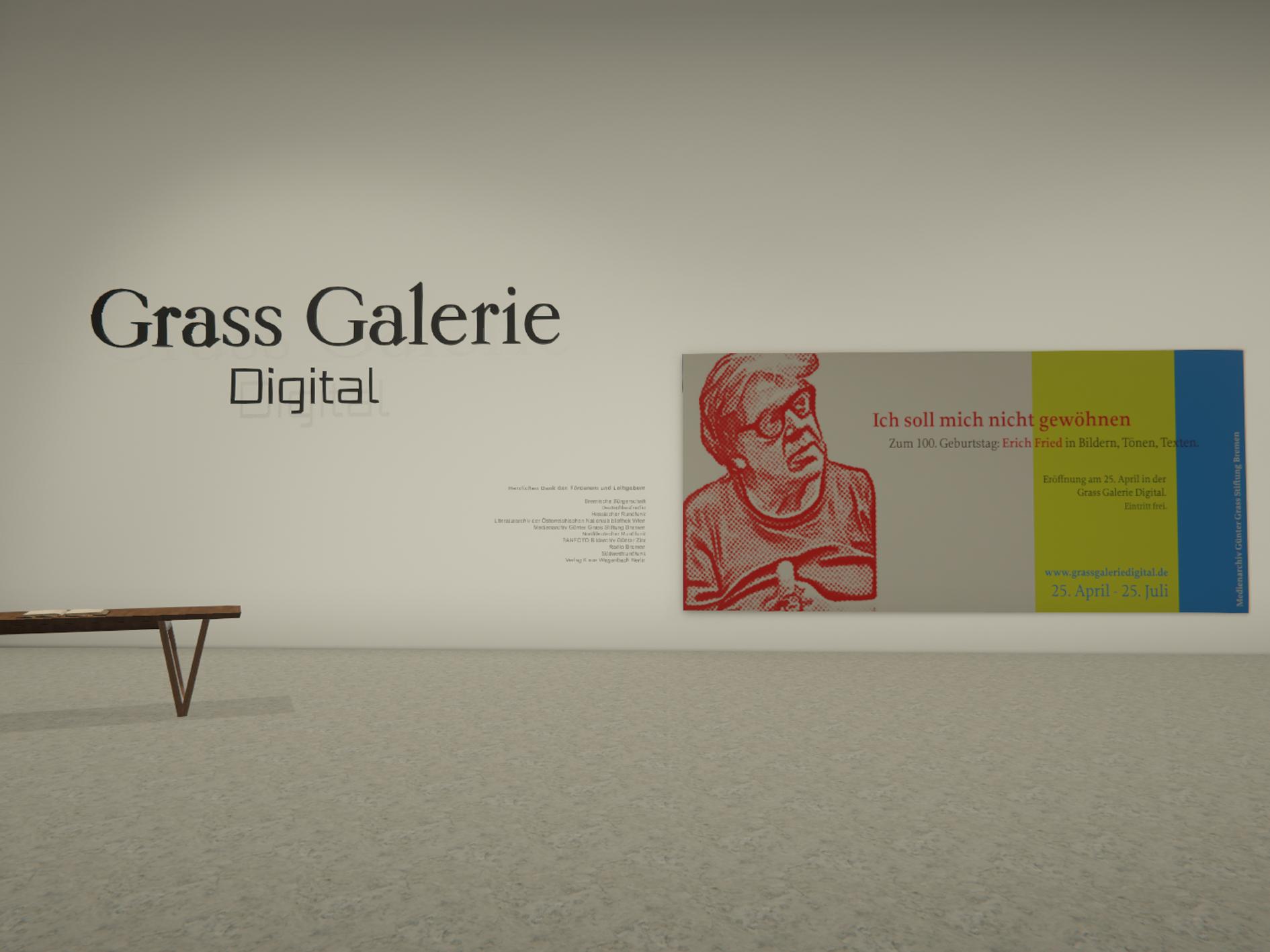Ausstellung zum 100. Geburtstag: Erich Fried in Bildern, Tönen, Texten