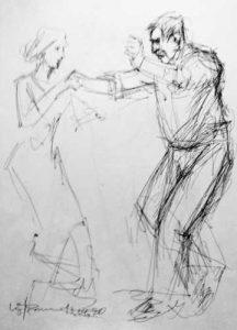 Tanz-Zeiochnung Marietta